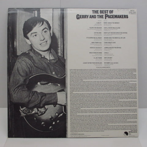 GERRY AND THE PACEMAKERS - The Best Of Gerry And The Pacemakers (UK:Matt Sleeve)