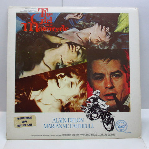 O.S.T. - Girl On A Motorcycle (US Promo Stereo LP)