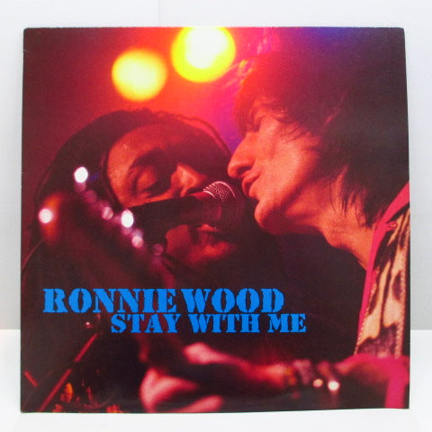 "RON WOOD (RONNIE WOOD) - Stay With Me (Live) (UK Orig.12"")"