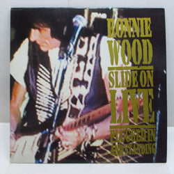 RON WOOD (RONNIE WOOD) - Slide On Live-Plugged In And Standing (UK Orig.2xLP)