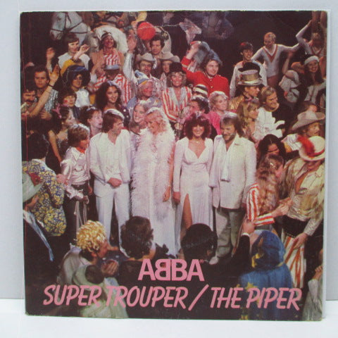 "ABBA - Super Trouper (UK Reissue 7""+PS)"