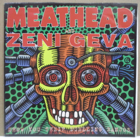 "ZENI GEVA / MEATHEAD - Show You Their Duelling Banjos (Italy Orig.7"")"