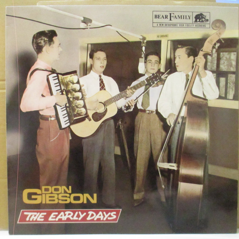 DON GIBSON (ドン・ギブソン)  - THe Early Days (German Orig.LP)