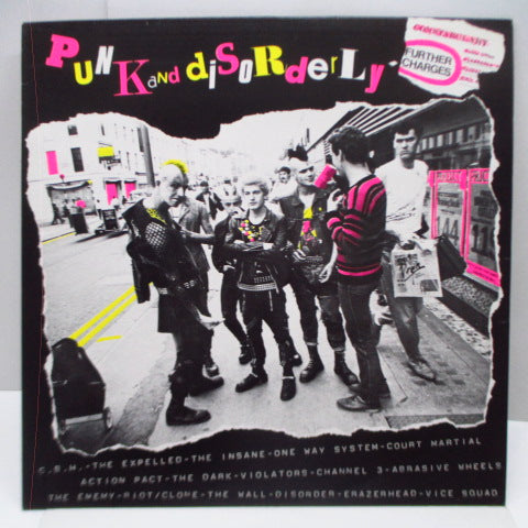 V.A. - Punk And Disorderly : Further Charges (UK Orig.LP)