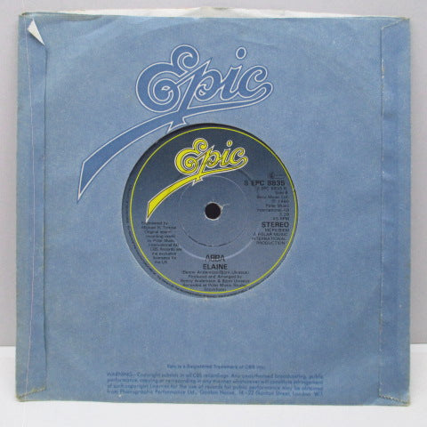 "ABBA - The Winner Takes It All (UK Orig.7""+CS)"
