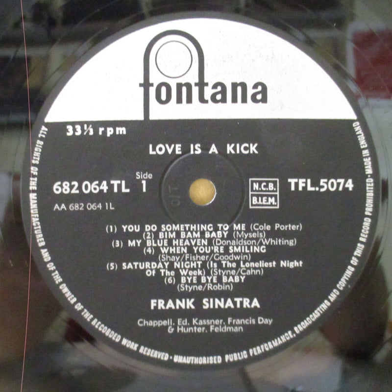 FRANK SINATRA  (フランク・シナトラ)  - Love Is A Kick (UK Orig.Mono LP/CFS)
