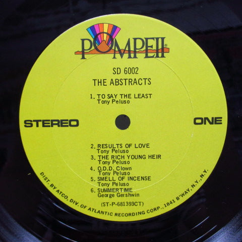 ABSTRACTS - Abstracts (US Orig.Stereo LP)