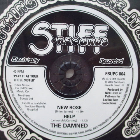 "DAMNED, THE - Play It At Your Little Sister (UK Ltd.CD+7"")"