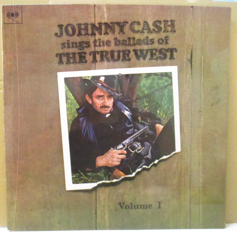 JOHNNY CASH (ジョニー・キャッシュ)  - Sings The Ballads Of The True West Vol.1 (UK Orig.Stereo LP/CS)