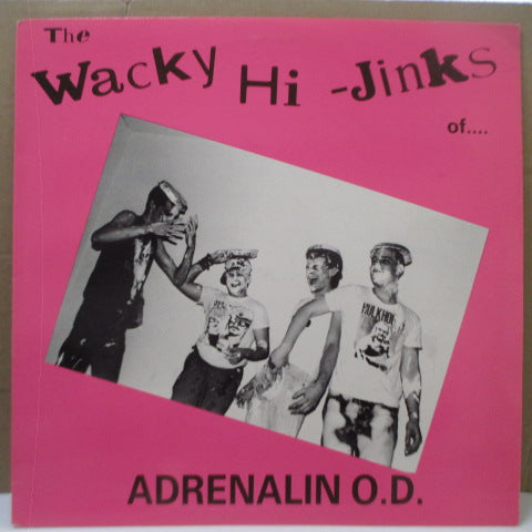 ADRENALIN O.D. - The Wacky Hi-Jinks Of...(US Orig.LP)