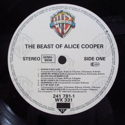 ALICE COOPER - The Beast Of Alice Cooper (GERMAN Orig.)