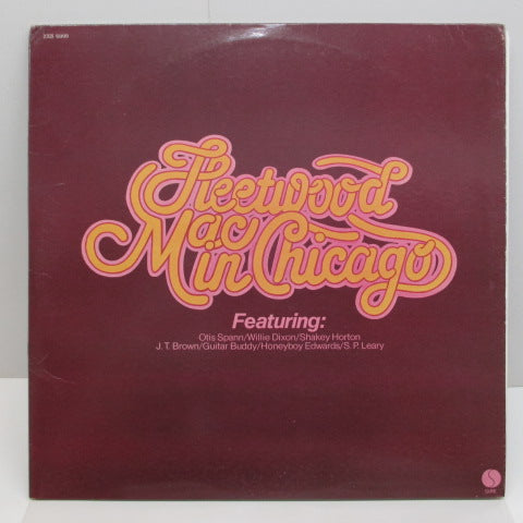FLEETWOOD MAC - Fleetwood Mac In Chicago (US:'75 Orig.2LP)