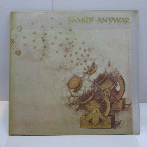 FAMILY (ファミリー)  - Anyway... (UK 70's Reissue LP+Printed Outer CVR)