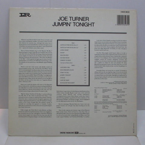 JOE TURNER-Jumpin 'Tonight (FRANCE Orig.Mono)