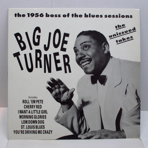 JOE TURNER - The Unissued Takes (FRANCE Orig.)