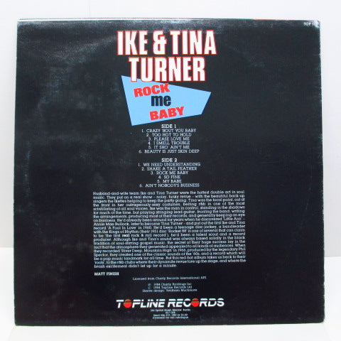 IKE & TINA TURNER - Rock Me Baby (UK Orig.)