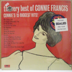 CONNIE FRANCIS (コニー・フランシス)  - The Very Best Of Connie's 15 Biggest Hits! (Canada '77 Re Stereo LP)