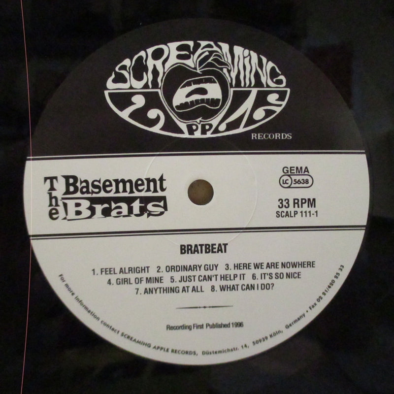 BASEMENT BRATS, THE (ザ・ベースメント・ブラッツ)  - The Bratbeat (German Orig.LP)
