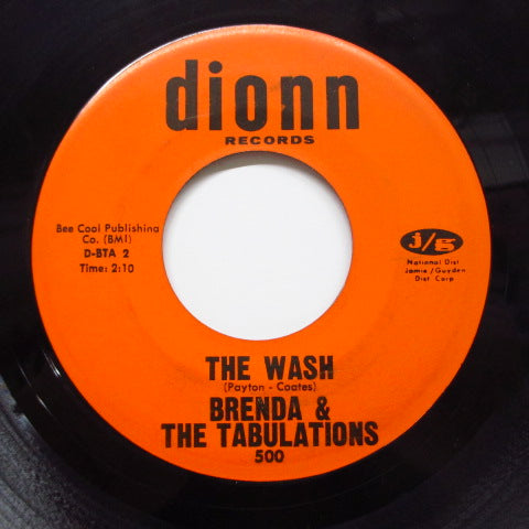 BRENDA & THE TABULATIONS - Dry Your Eyes / The Wash