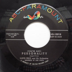 LLOYD PRICE - Personality (Orig)