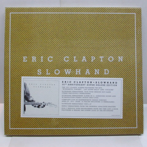 ERIC CLAPTON - Slowhand (EU Limited Box Set)/Seald)