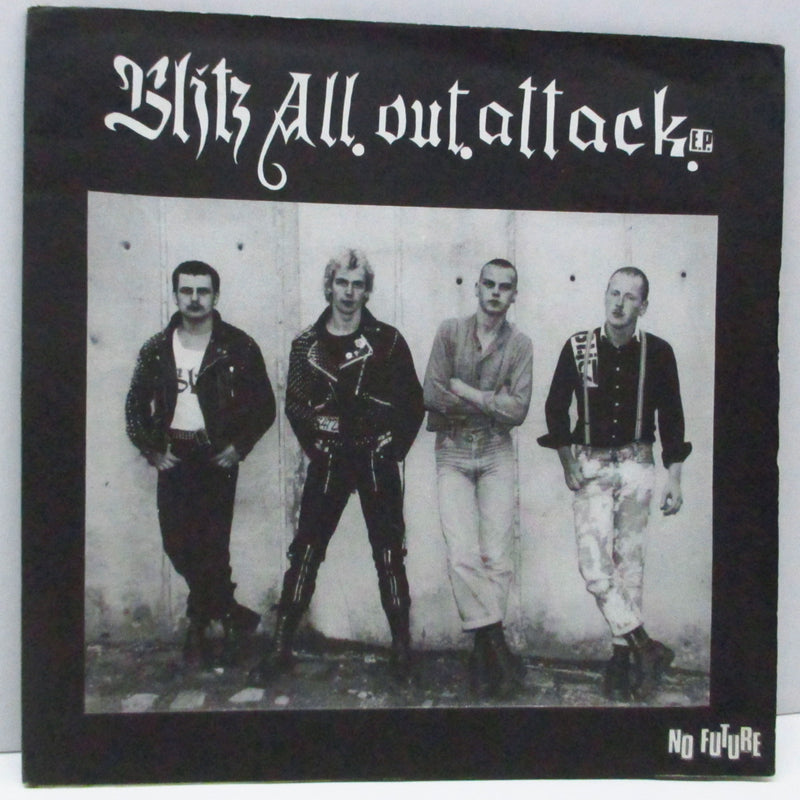 "BLITZ - All Out Attack E.P. (UK 2nd Press 7"")"