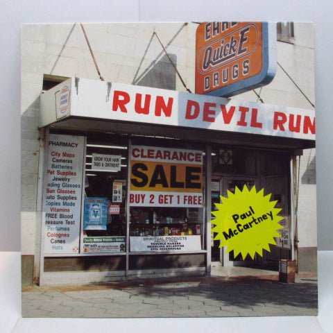 PAUL McCARTNEY - Run Devil Run (EU Orig.LP)