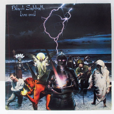 BLACK SABBATH - Live Evil (UK Orig.2 x LP)