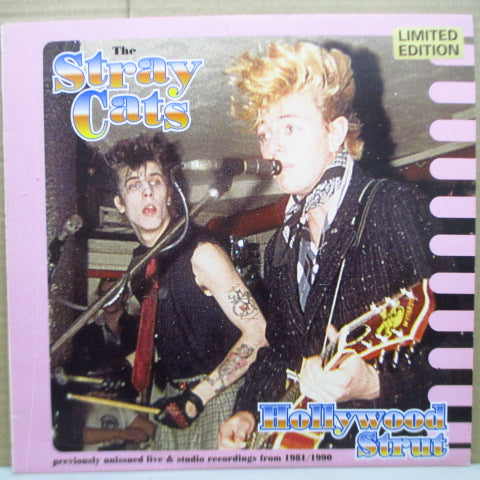"STRAY CATS - Hollywood Strut (UK Ltd.10"")"