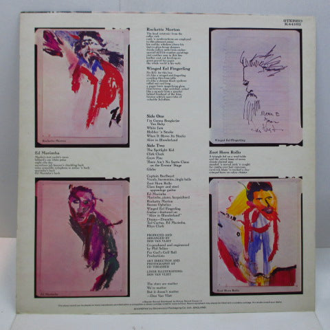 CAPTAIN BEEFHEART - The Spotlight Kid (UK Orig.Stereo)