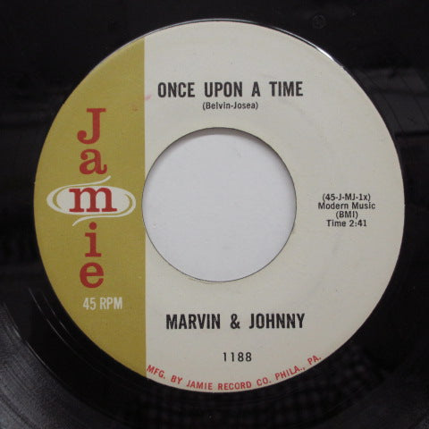 MARVIN & JOHNNY - Tick Tock ('61 Jamie Reissue)