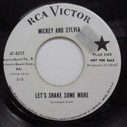MICKEY & SYLVIA - Let's Shake Some More (Promo)