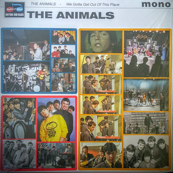 ANIMALS - We Gotta Get Out Of This Place (UK Ltd.Mono LP/New)