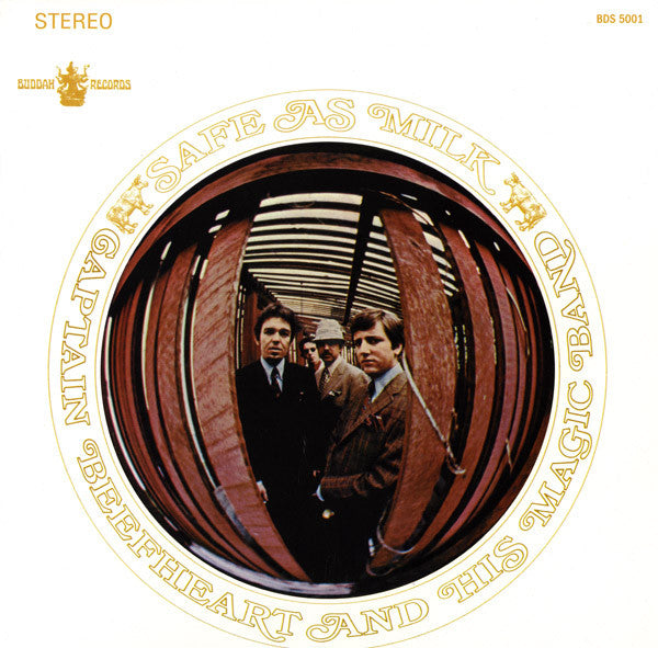 CAPTAIN BEEFHEART - Safe As Milk (US Ltd.Reissue LP/New)