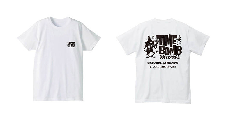 TIMEBOMB RECORDS - Timebomb Records Logo T-Shirt version.02(White)