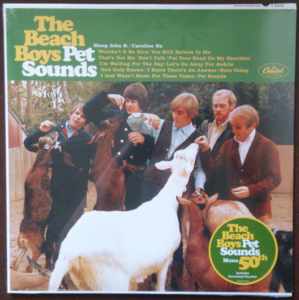 BEACH BOYS    (ビーチ・ボーイズ)  - Pet Sounds (EU Ltd.Reissue Mono LP/New)