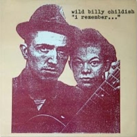 WILD BILLY CHILDISH - I Remember... (US Ltd.LP/New)
