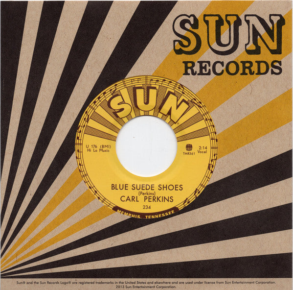 "CARL PERKINS (カール・パーキンス)  - Blue Suede Shoes (US Ltd.Reissue 7""/New)"