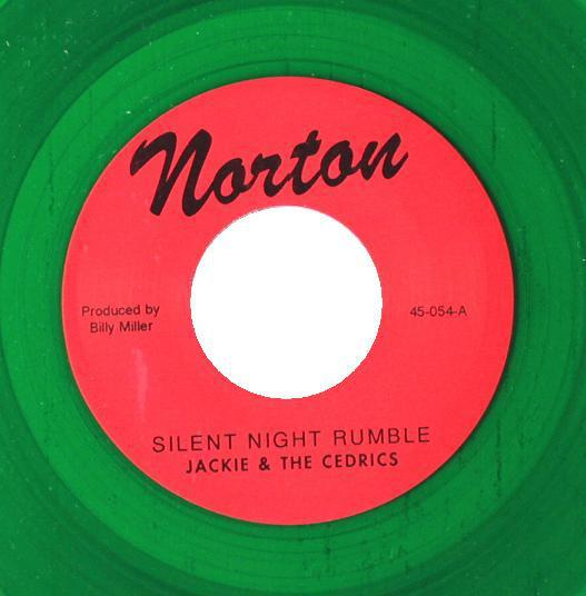 "JACKIE & THE CEDRICS - Silent Night Rumble (US Ltd.Green Vinyl 7""/New)"