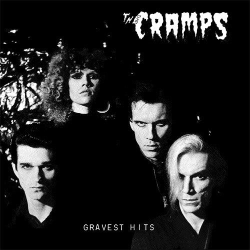 CRAMPS - Gravest Hits (US 1500 Ltd.Reissue 200g Black Vinyl LP/New)