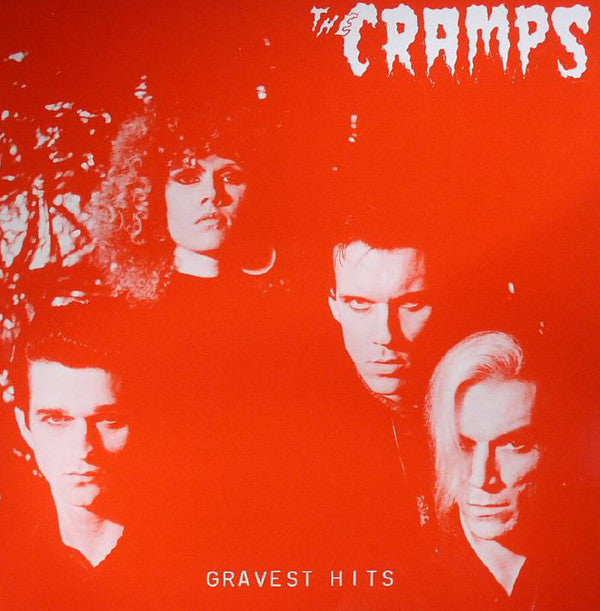 CRAMPS - Gravest Hits (US 1500 Ltd.Reissue Red Vinyl LP/New)