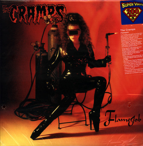 CRAMPS - Flame Job (US 1500 Ltd.200g Red Vinyl LP/New)