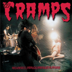 CRAMPS - RockinnReelinInFucklandNewZealandxxx (US Ltd.Clear Vinyl LP/New)