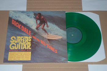 DICK DALE & HIS DEL-TONES (ディック・デイル & デルトーンズ)  - Surfer's Guitar (EU Ltd.Green VInyl LP/New)