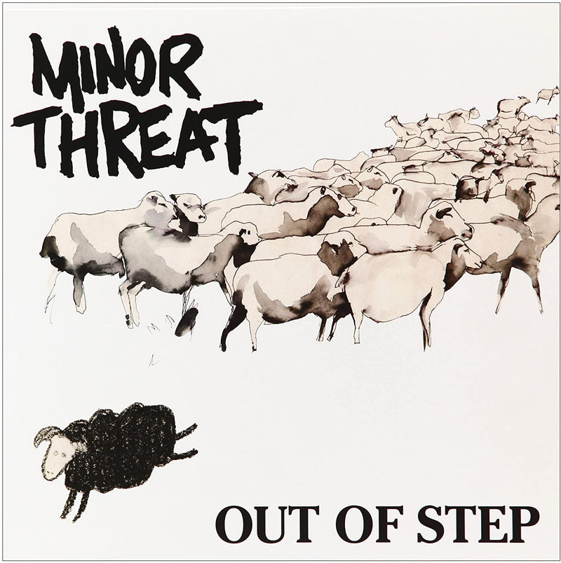 "MINOR THREAT - Out Of Step (Reissue 12""/NEW)"