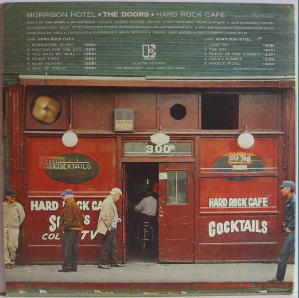 DOORS     (ドアーズ)  - Morrison Hotel  (EU Ltd.Reissue 180g LP/New)