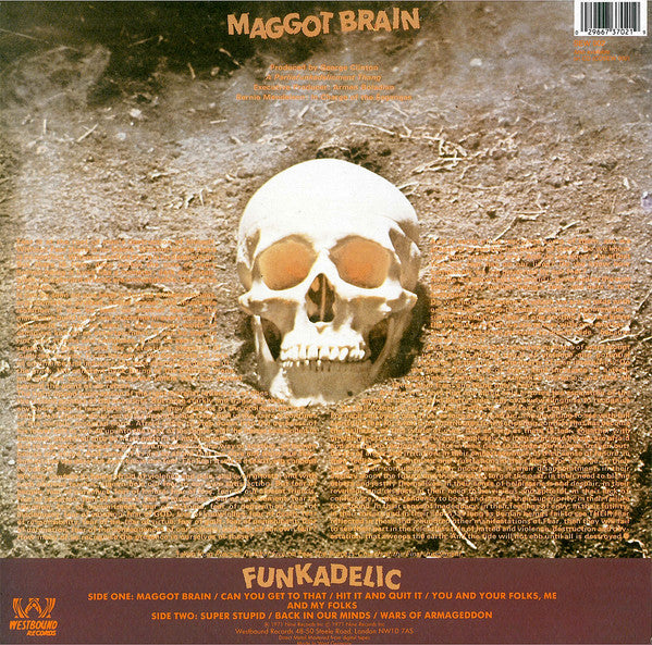 FUNKADELIC (ファンカデリック)  - Maggot Brain (UK-German Ltd.Reissue LP/New)