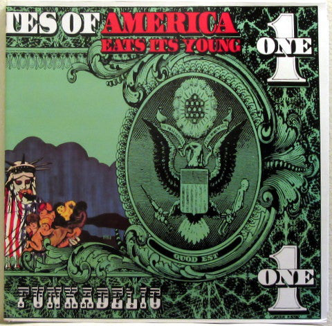 FUNKADELIC (ファンカデリック)  - America Eats Its Young (UK Ltd.Re 2xLP/New)