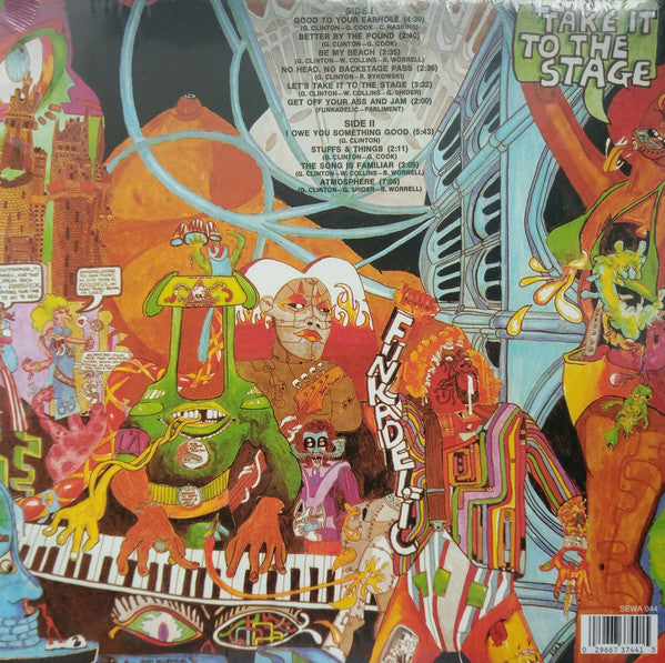 FUNKADELIC      (ファンカデリック)  - Let's Take It To The Stage (UK Ltd.Reissue LP/New)
