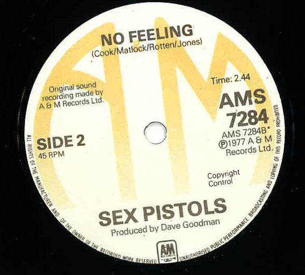 "SEX PISTOLS - God Save The Queen (Unofficial 7"" / New)"